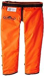 Arborwear Men's Calf Wrap Rac Chap Regular, Safety Orange, Regular