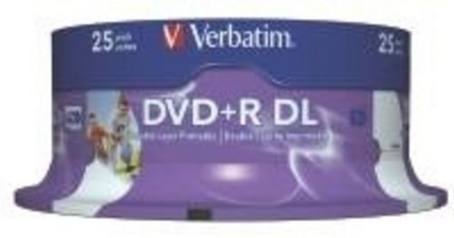 Verbatim DVD + R 8x dualwide SP2543667