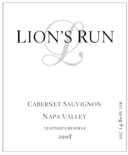 2008 Lion'S Run Cabernet Sauvignon 750 Ml