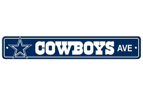 NFL Dallas Cowboys Plastic Street Sign at Amazon.com