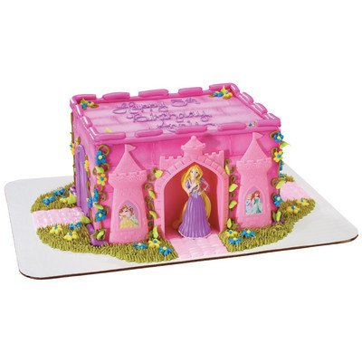 Decopac Disney Princess Rapunzel and Castle DecoSet Cake Topper