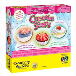 MAKE YOUR OWN SOAP ! Child art and craft kits, art supplies! Cupcake Soap Sets