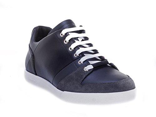 Sneakers Dior uomo in Pelle di vitello nero e blu - Codice modello: 3SN129WUE - Taglia: 43 EU