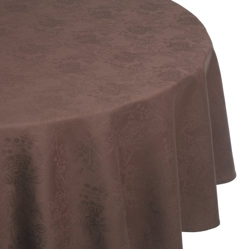 Nydel Clairette 67-Inch Round Tablecloth, Chocolat - Buy Nydel Clairette 67-Inch Round Tablecloth, Chocolat - Purchase Nydel Clairette 67-Inch Round Tablecloth, Chocolat (Nydel, Home & Garden, Categories, Kitchen & Dining, Kitchen & Table Linens, Tablecloths)