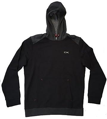 Calvin Klein Mens Performance Athletic Hooded Sweatshirt