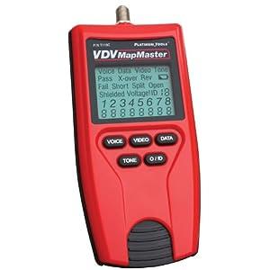 Platinum Tools T119C VDV Clamshell Map Master Tester
