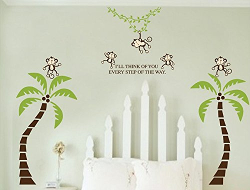 Monkey Themed Bedroom front-503854