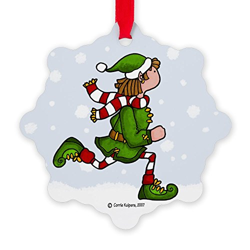 CafePress - Cool Runnings 2 Ornament - Snowflake Ornament, Decorative Christmas Ornament