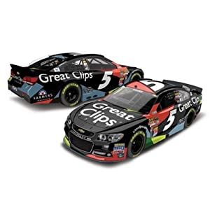 Buy 2014 Kasey Kahne #5 Great Clips 1:24 Scale Die-Cast Chevrolet SS 1 of 800 by Lionel Racing (Action Racing Collectibles)