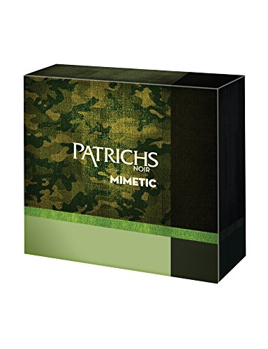Patrichs Cofanetto Mimetic Dopobarba - 75 ml, Gel Doccia - 250 ml, Taccuino