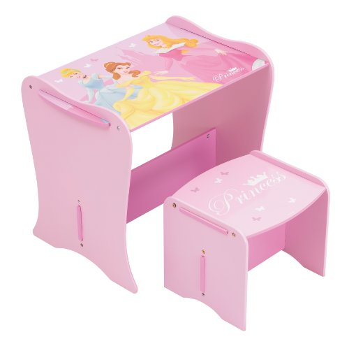 Disney Princess Mdf Desk And Stool