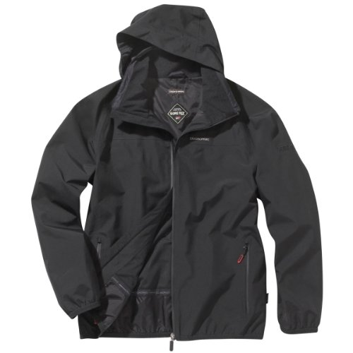 Craghoppers Men's Byron Goretex Waterproof Jacket - Black, XX-Large