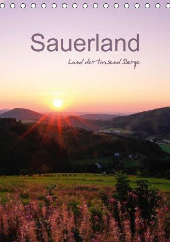 Sauerland - Land der tausend Berge / Familienplaner (Tischkalender 2015 DIN A5 hoch): Das Sauerland rund um den Kahlen Asten im Wechsel der vier Jahreszeiten (Tischkalender, 14 Seiten), Buch