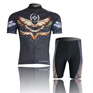 Buy Baleaf Mens Short Sleeve Cycling Jersey Wing Style by Baleaf