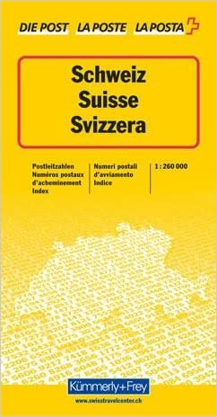 Zip Code Map: Thematic Map (German Edition)