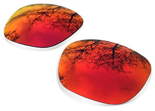 Sunglasses Restorer Lenti Polarizzate Ruby Red di Ricambio per Oakley Garage Rock