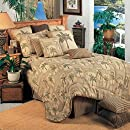 Palm Beach Comforter Set   Twin