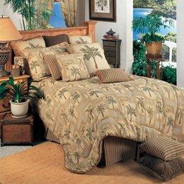Palm Grove 3 Piece Comforter Set Size: King