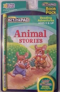 Active Pad Animal Stories Interactive Book & Cartridge