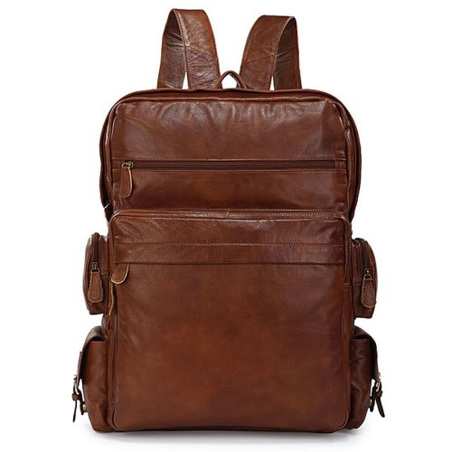 The Best Backpack for Travel Anywhere in the World. Stylish & Quality Leather Carry on Backpack That You Do Not Have to Check When Boarding a Plane