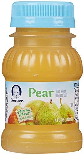 Gerber Juice - Pear - 4 fl oz - 24 pk (Pear Juice Organic compare prices)