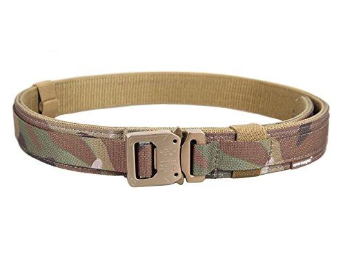 DLP Tactical Cobra Buckle Pistol / Rigger Belt (Multicam, XL)