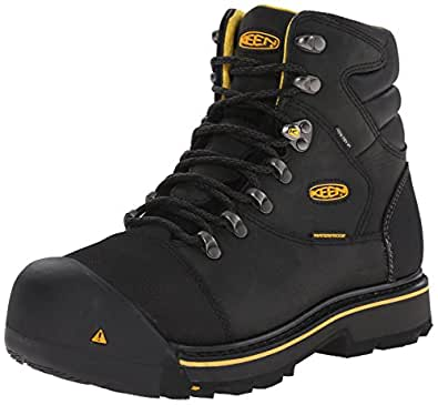 Amazon.com: KEEN Utility Men's Milwaukee Wide Work Boot: Shoes