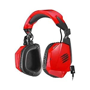 Mad Catz MCB434090013/02/1 F.R.E.Q.3 Stereo Gaming Headset for PC, Mac and Smart Devices, Red