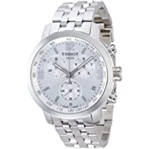 Tissot PRC 200 Chronograph Mens Watch - Stainless Steel