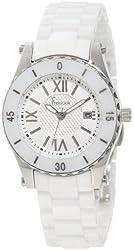 Freelook Women's HA5114-9 Stainless Steel Watch with White Ceramic Bracelet