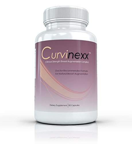 Curvinexx Breast Augmentation Formula - Lift, Firm And Enhance Your Bust Naturally. Natural Breast Toning And Enlarging Pills - 50 Capsules front-596030