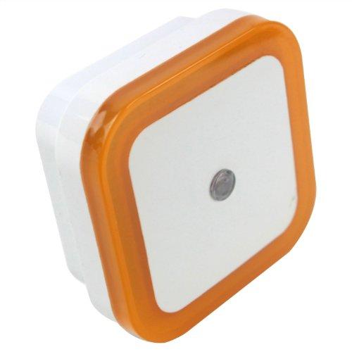 niceeshop(TM) LEDセンサーライト 方形省エネLEDナイトライト ホワイト+イエロー