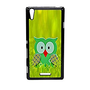 Vibhar printed case back cover for Sony Xperia T3 Grassowl