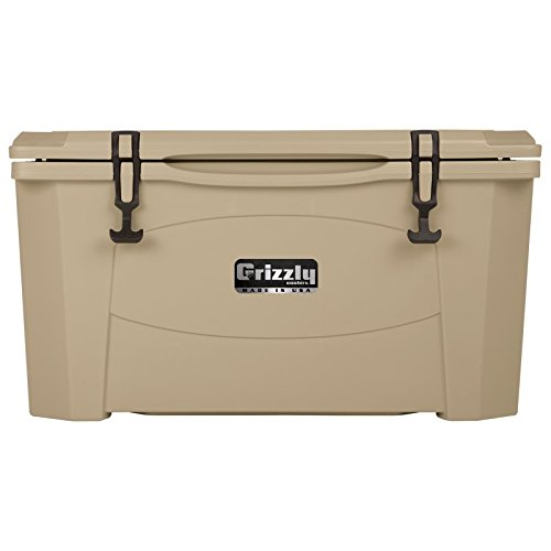 Grizzly Coolers Hunting Cooler, Sandstone/Tan, 60-Quart