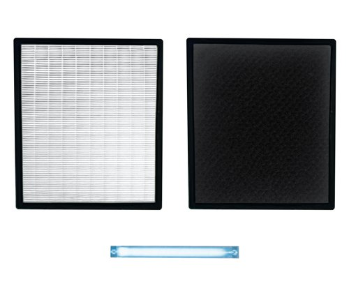 Cheap Replacement HEPA/Carbon Filter & UV Bulb Combo for Air Shield Air Purifier (AP-HFUV-1000)