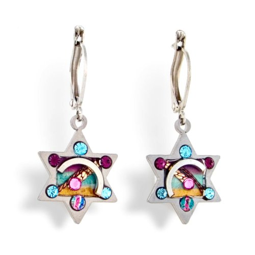 Star of David Judaic Earrings from the Artazia Collection #360 JE