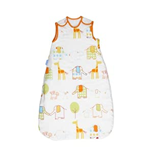 Grobag Spot 1.0 Tog and Hippo Hop 2.5 Tog Baby Sleep Bag Twin Pack (0-6 Months)