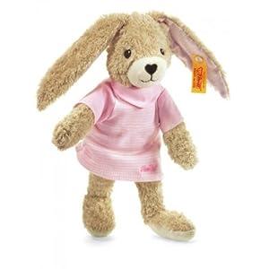Steiff 237577 - Hoppel Hase, rosa, 20 cm