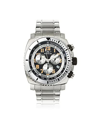 Invicta Men's 0616 Specialty Chronograph Silver/Black Stainless Steel Watch