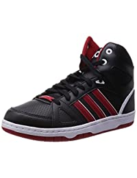 Adidas Men's Hoops Team Mid, BLACK/RED/WHITE
