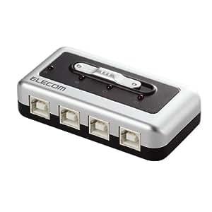 ELECOM USB2.0対応切替器 U2SW-T4
