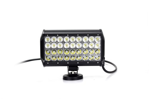 """Lite Wheels Four Row 9"""" 108W Cree Led Light Bar For Military, Agriculture, Marie, Mining Boat"""
