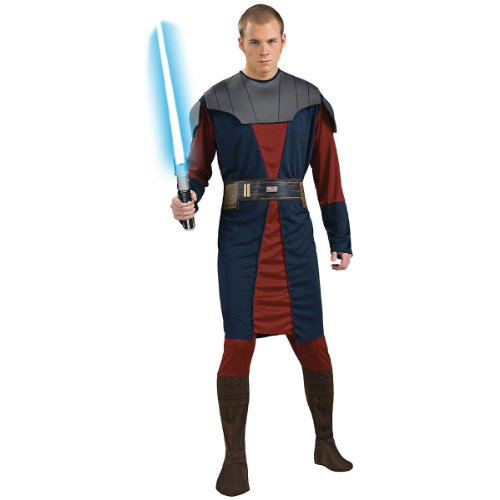 Anakin Skywalker Costume - X-Large - Chest Size 44-46