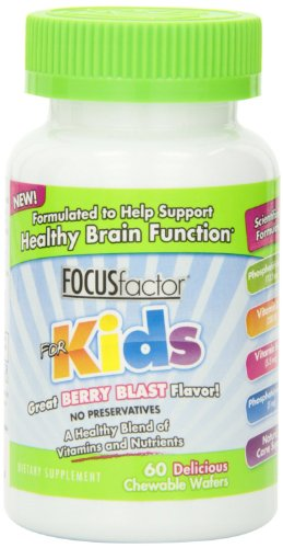 Factor Nutrition Labs Focus Factor for Kids, Berry Blast