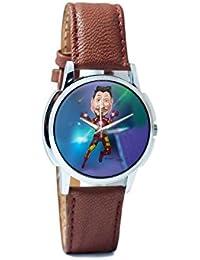 BigOwl Man Of Iron Analog Men's Wrist Watch 3681196126-RS1-W-BRW