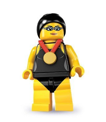 Lego Series 7 Swimming Champion