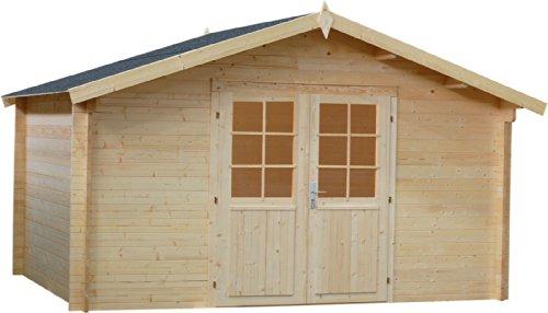 haebelholz Gartenhaus Edition G 400x400 cm