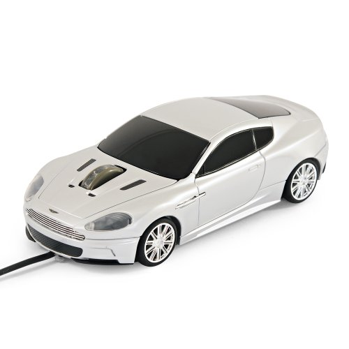 Aston Martin DBS Wired Computer Mouse (Silver)