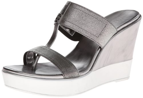 Bcbgeneration Women'S Quintin Wedge Sandal,Anthracite,8 M Us front-453749