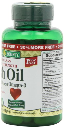 Nature S Bounty Triple Strength One Per Day Fish Oil